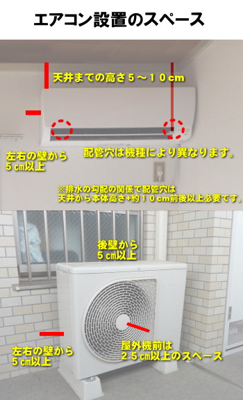 エアコン 取り付け 工事